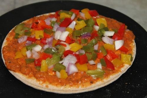 Veg Pizza recipe