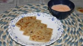 Raw Banana Paratha recipe