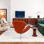 sillas eiffel patas madera negras sillas eames muebles de diseño lámpara de metal de estilo industrial estilo nórdico estilo moderno estilo minimalista diseño nórdico diseño americano decoración en blanco negro y madera decoración de interiores decoración de comedores