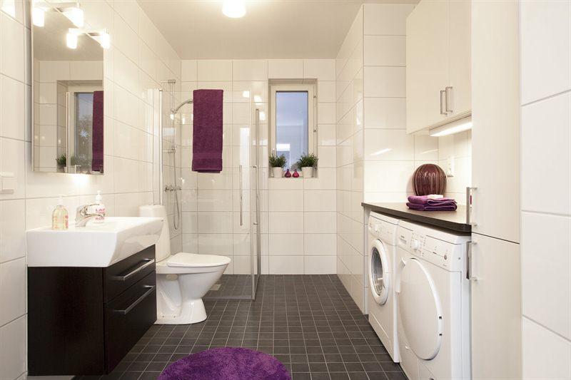 Decoracion De Un Baño Principal:Bathroom Laundry Combined
