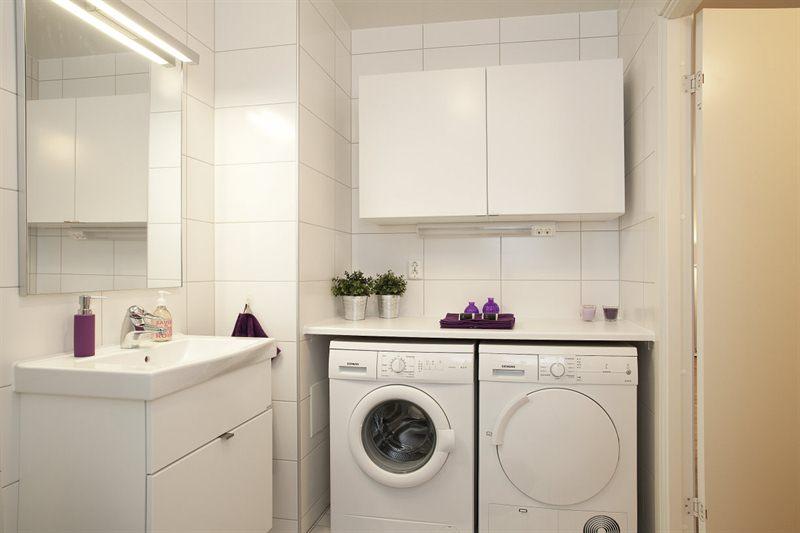 Cuartos de ba o con lavadora blog decoraci n estilo - Instalar lavadora en bano ...