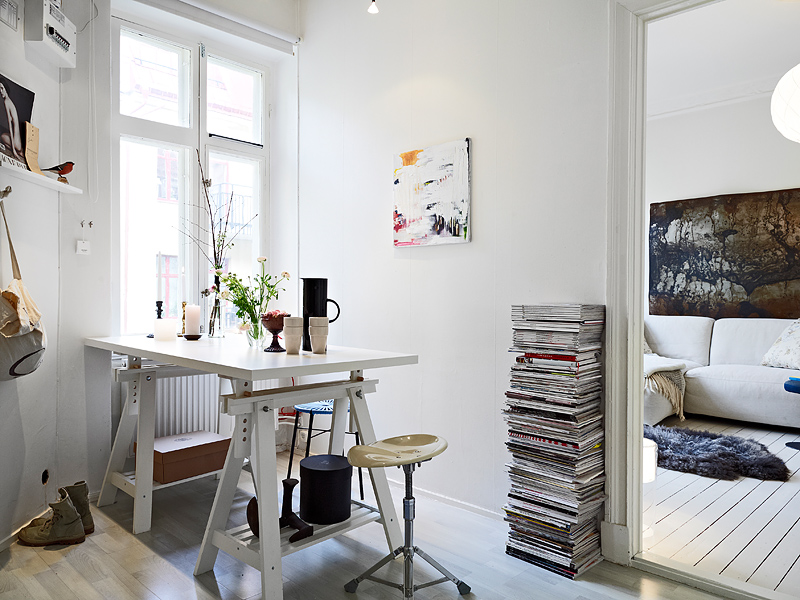 Decoraci n de un peque o piso de 31m blog decoraci n for Decoracion pisos pequenos