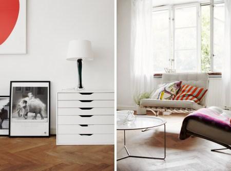 suelo parquet espigado sillas tulip sillas de diseño sillas barcelona ropa cama algodón radio retro