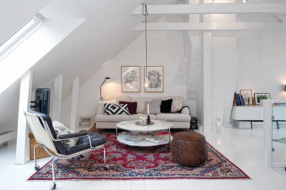Un d plex con muchos detalles blog decoraci n estilo for Apartamentos pequenos bien decorados