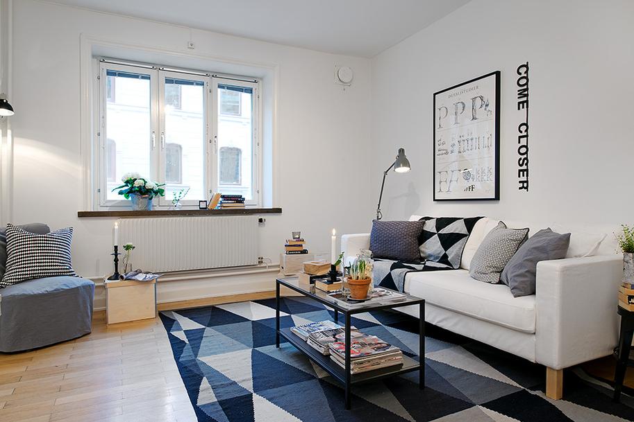 muebles de ikea decorar muebles de ikea Mini piso de 40 m? de estilo