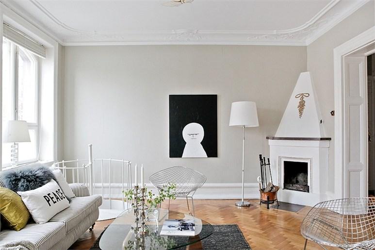 Mezclando estilo r stico y moderno para conseguir un aire for Decoracion salon rustico moderno