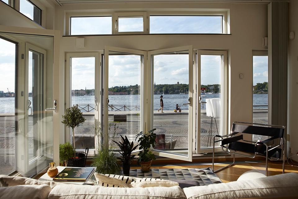 Loft con zona de exterior en la acera blog decoraci n - Loft decoracion interiores ...
