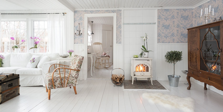 Rom ntico estilo cottage blog decoraci n estilo n rdico for Muebles romanticos blancos