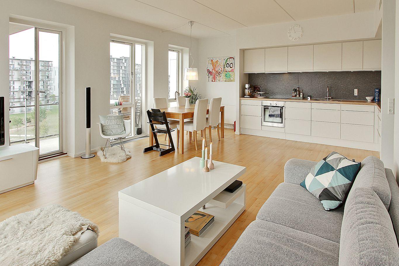 piso nrdico sencillo y luminoso