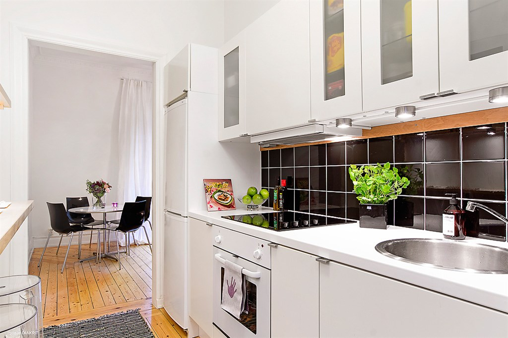 aprovechar el espacio al m ximo la cocina en el pasillo
