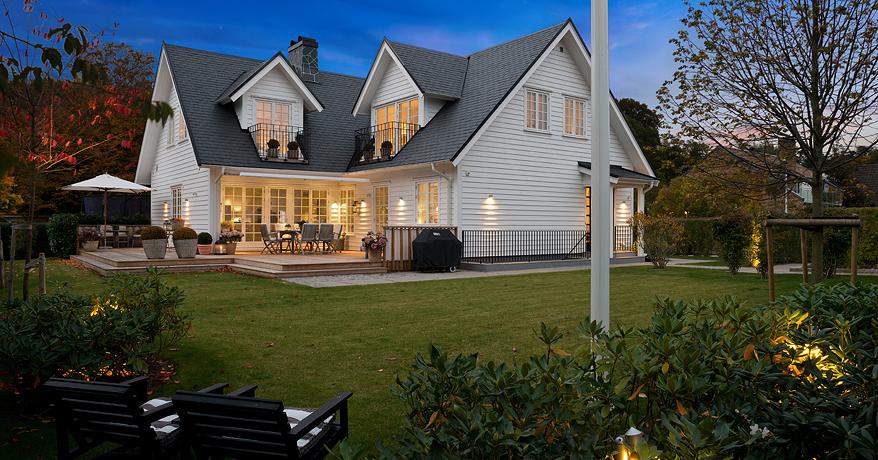 Una casa n rdica que gusta desde el exterior blog - Casas de madera nordicas ...