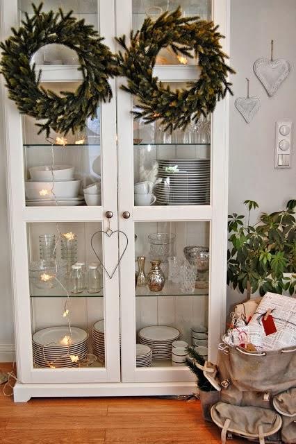 Navidad en la casita de campo blog decoraci n estilo - Decoracion navidena rustica ...