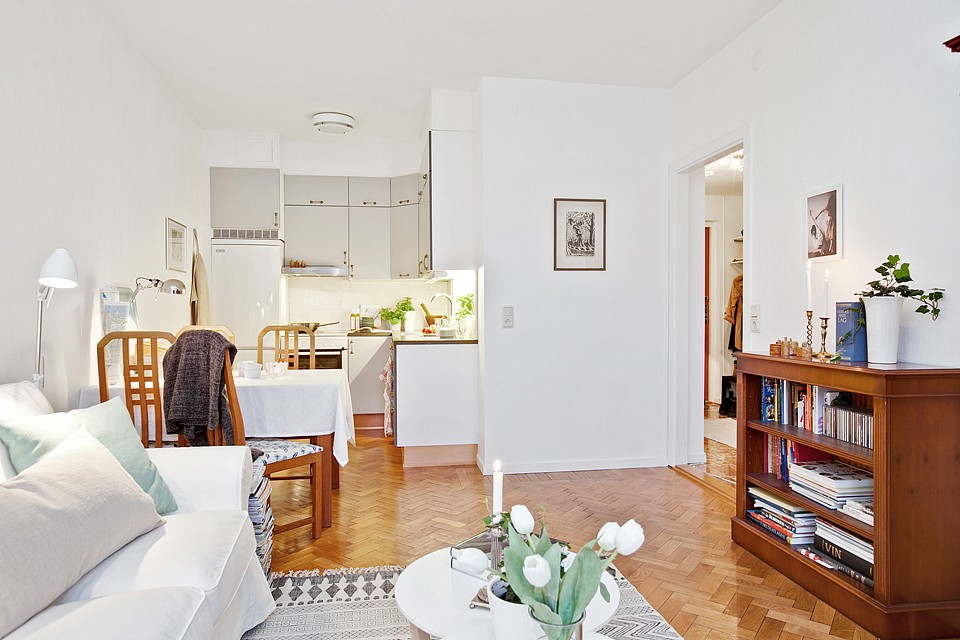 Un mini piso de 38 m con mucho encanto blog decoraci n - Pisos con encanto madrid ...
