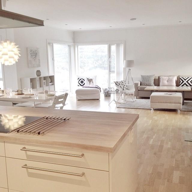 Preciosa casa de estilo n rdico en noruega for Muebles diseno nordico