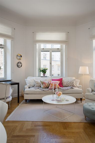 68 m sin pasillos blog decoraci n estilo n rdico for Decoracion piso 1 habitacion
