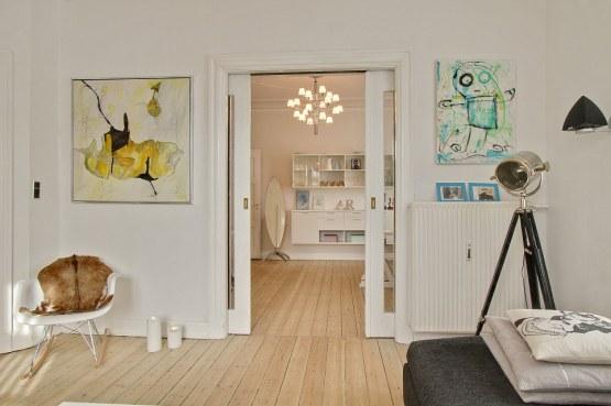 muebles de diseño estilo nórdico diseño danés decoración nórdica decoración de interiores nórdicos decoración danesa cocinas pequeñas blancas modernas blog decoración nórdica 49m² de blanco estilo nórdico con toques exóticos y vintage