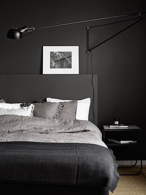 minimalismo negro interiores lujosos elegantes estilo nórdico escandinavo en negro Estilo escandinavo en negro decoración nórdica en negro decoración dramática colores oscuros blog interiores nórdicos blog decoración nórdica