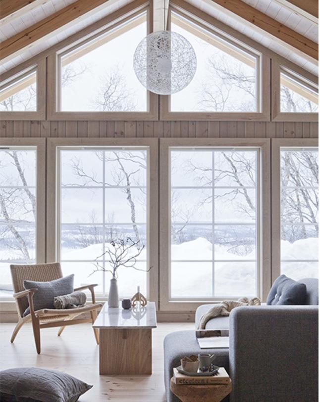 Invierno en una casa de madera en noruega blog for Case con scantinati in texas