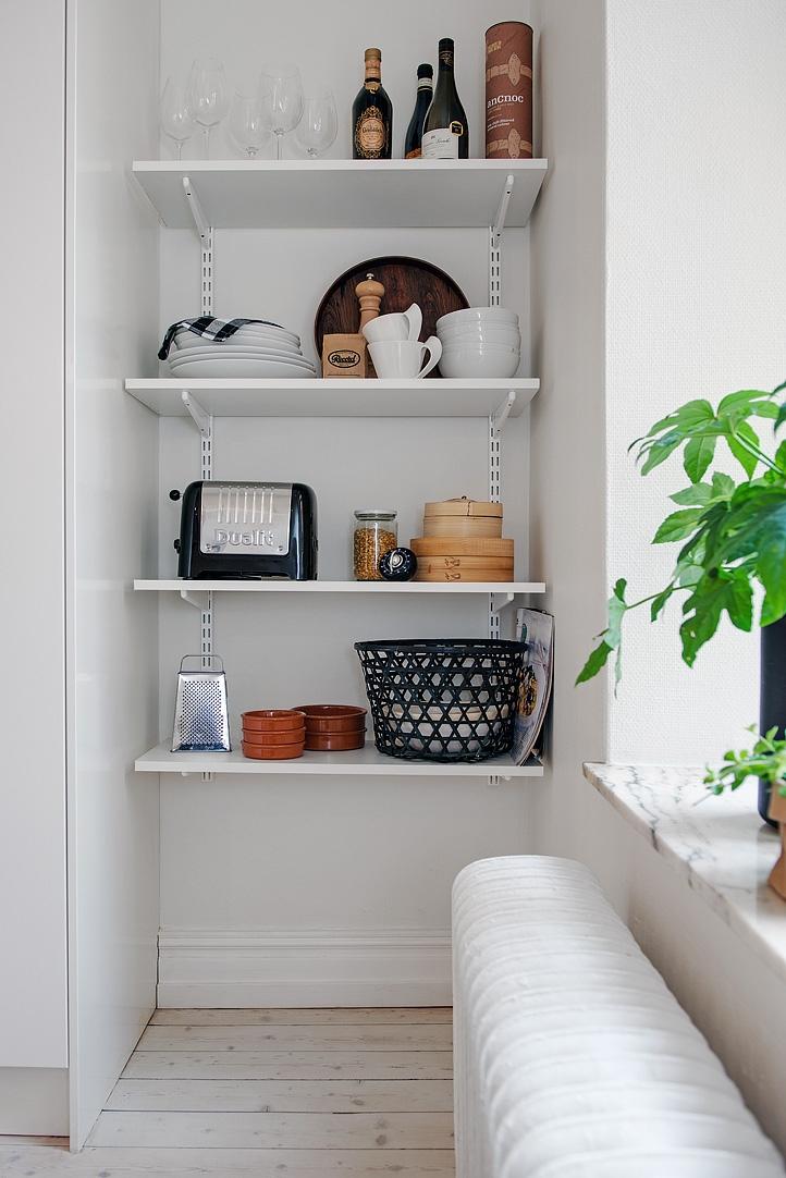 Espacio extra de almacenaje en la cocina con armarios - Armarios para almacenaje ...