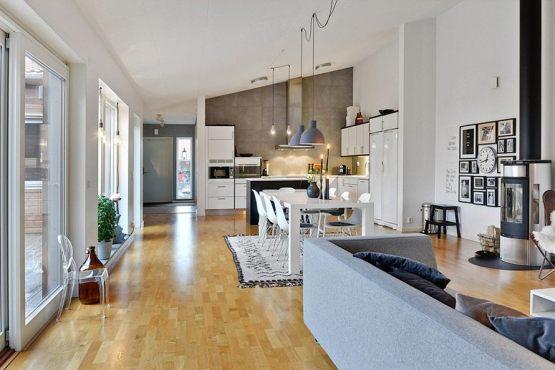Tendencia n�rdica: menos muebles y m�s espacio