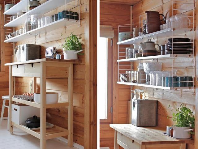 Casa de madera de vacaciones en finlandia blog decoraci n estilo n rdico delikatissen - Decoracion casas de madera ...