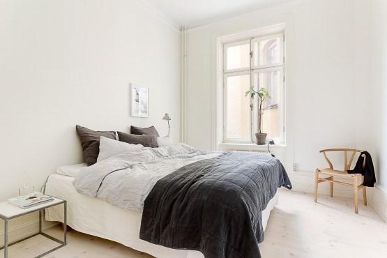estilo nórdico escandinavo El dormitorio típico de muchos nórdicos dormitorios nórdicos dormitorios minimalistas dormitorio sin muebles y estilo dormitorio en blanco decoracion dormitorios blog decoracion interiores