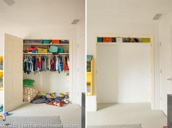 reforma de armario estilo americano el dormitorio en el armario diy dormitorio diy deco decoración interiores decoración dormitorio infantil antes despues deco almacenaje habitacion infantil