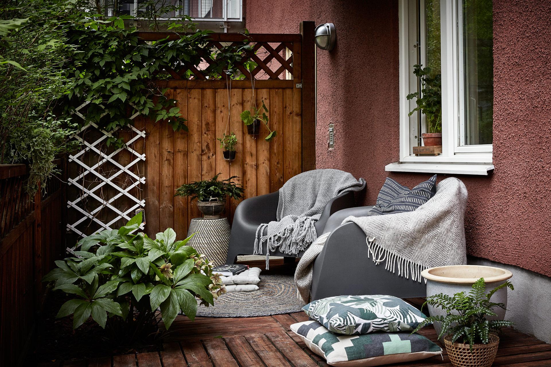 Obra seca en la terraza remodelaci n expr s para for Terrazas living