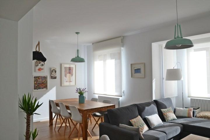 Hogares de nuestros lectores piso en zaragoza blog - Blog decoracion de interiores ...