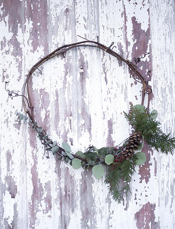 Festive Holiday Wreath 1