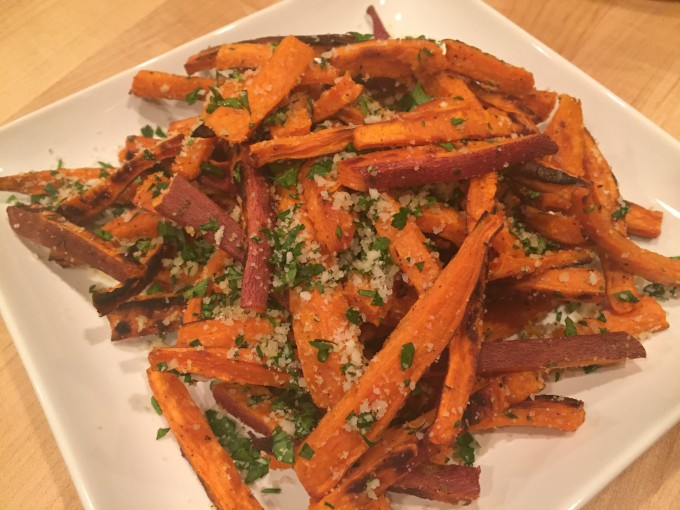 Quick and Easy – Oven Baked Sweet Potato Fries