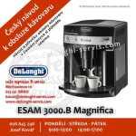 DeLonghi ESAM 3000.B Magnifica český návod a manuál
