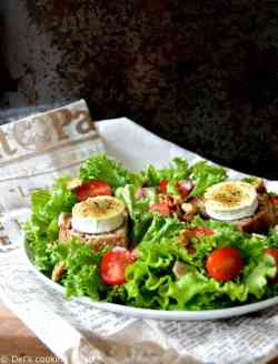 Calmly A Spicy Dressing Cooking Twist Goat Cheese Salad Dressing Lemon Juice Goat Cheese Salad Near Me Warm Goat Cheese Salad Warm Goat Cheese Salad