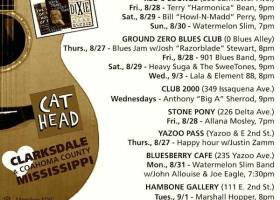 Sounds Around Town in Clarksdale beginning week of Thursday, August 27, 2015