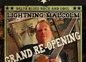 GRAND RE-OPENING May 26, 2016 for Levon's Bar & Grill in Clarksdale, Mississippi