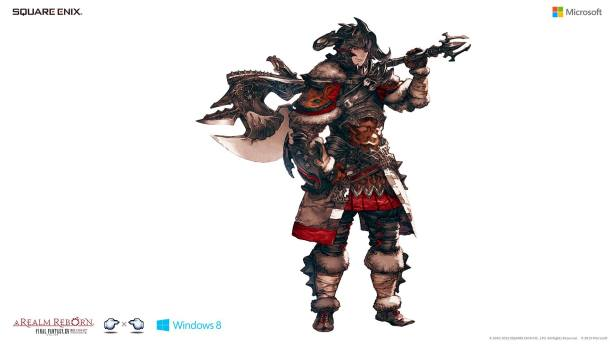 Final Fantasy XIV A Realm Reborn Character Artwork
