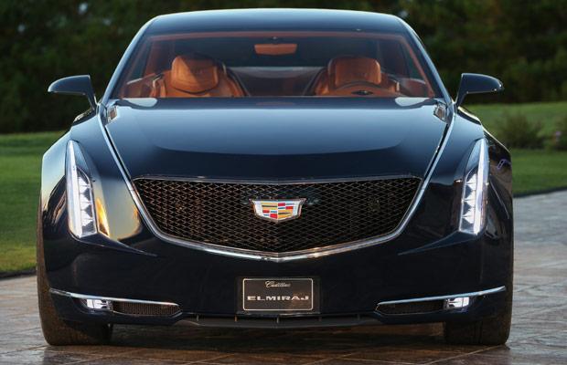 Cadillac's Elmiraj Coupe Concept front
