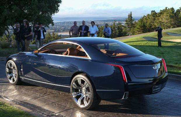 Cadillac's Elmiraj Coupe Concept rear