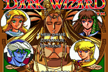 Dark Wizard Sega CD