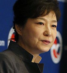 South Korea's first female President Park Geun-hye