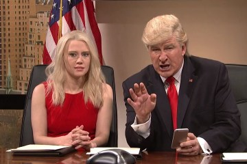 Donald Trump on Saturday Night Live (YouTube clip)