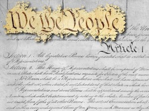 US Constitution We the People - World's Oldest Democracy