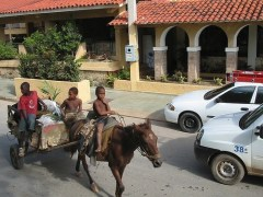 Poverty and luxury can live side by side in the Dominican Republic