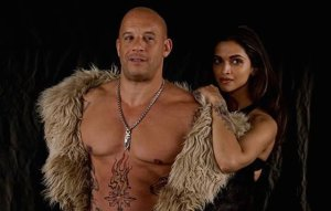 Serena (Deepika Padukone) and Xander (Vin Diesel) re-enacting a scene from Macklemore's 'Thrift Shop' video
