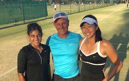 Tennis Goodwill Ambassador Natasha Makes It To The Semis – Down Under!