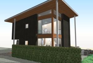 間取りデザイン08|豊かな自然が空間をつなげる家