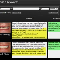 How the SmugMug photography sites make it easy to add keywords and descriptions for search engine optimization.