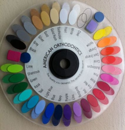 color wheel for braces