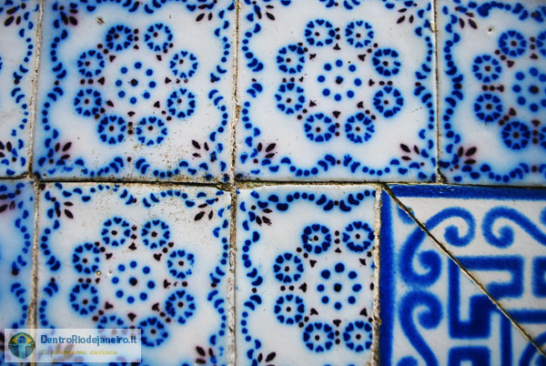 Largo do Boticário: azulejos