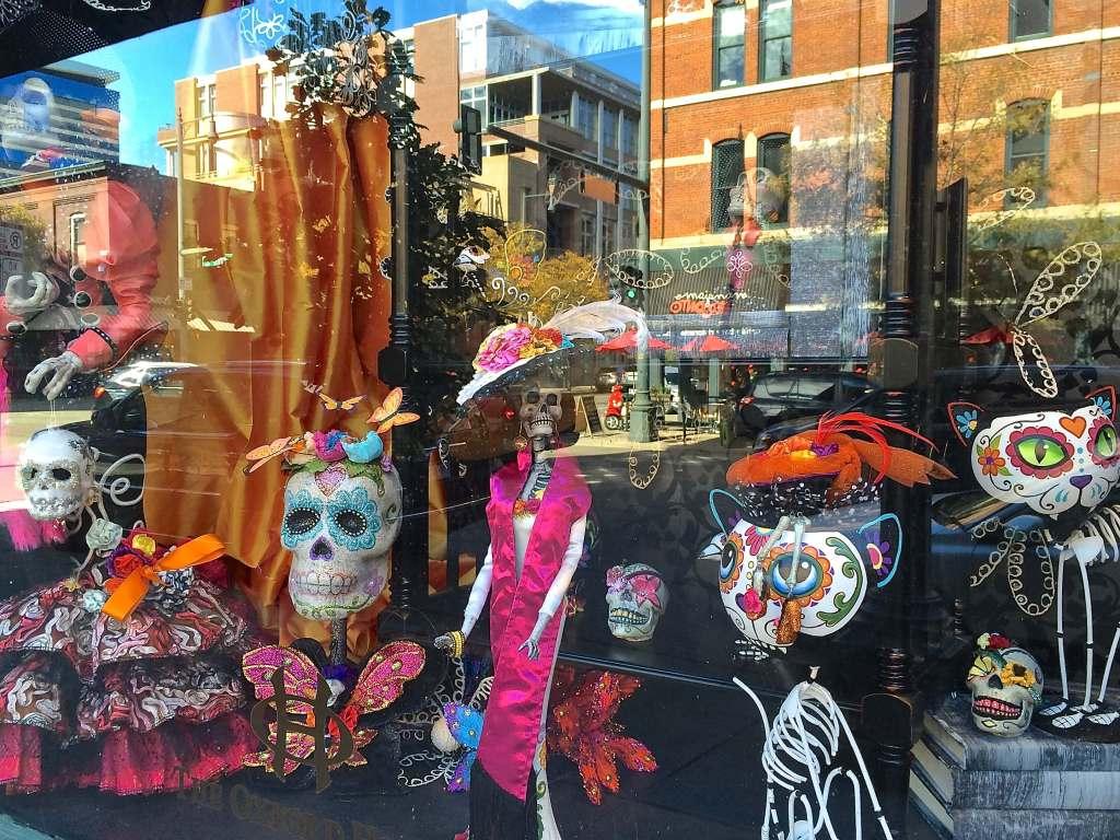 Denver this week October 7-13, 2016 Oxford Hotel Dia de Los Muertos display